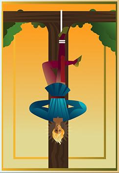 tarot wisielec