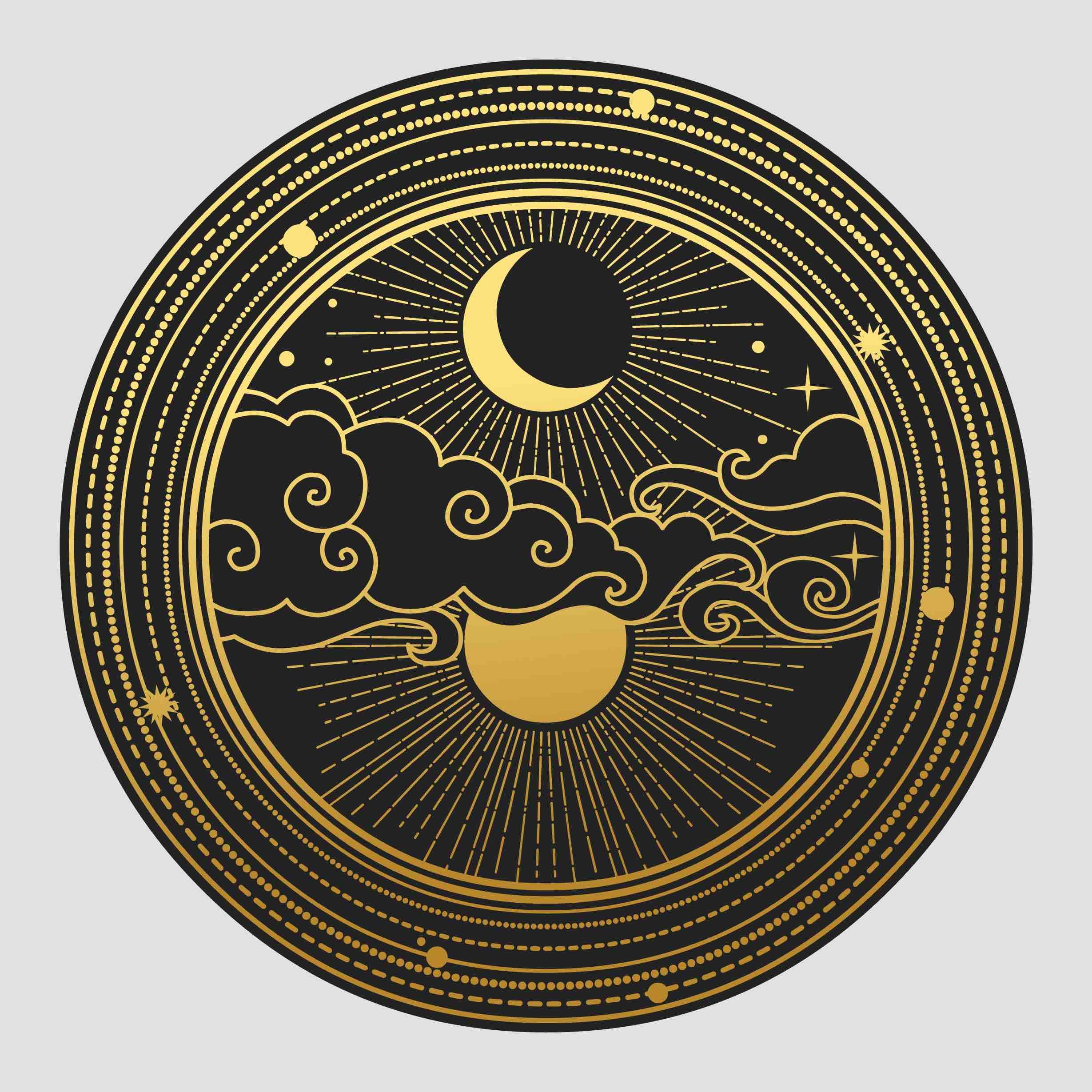 przesilenie, słońce, księżyc