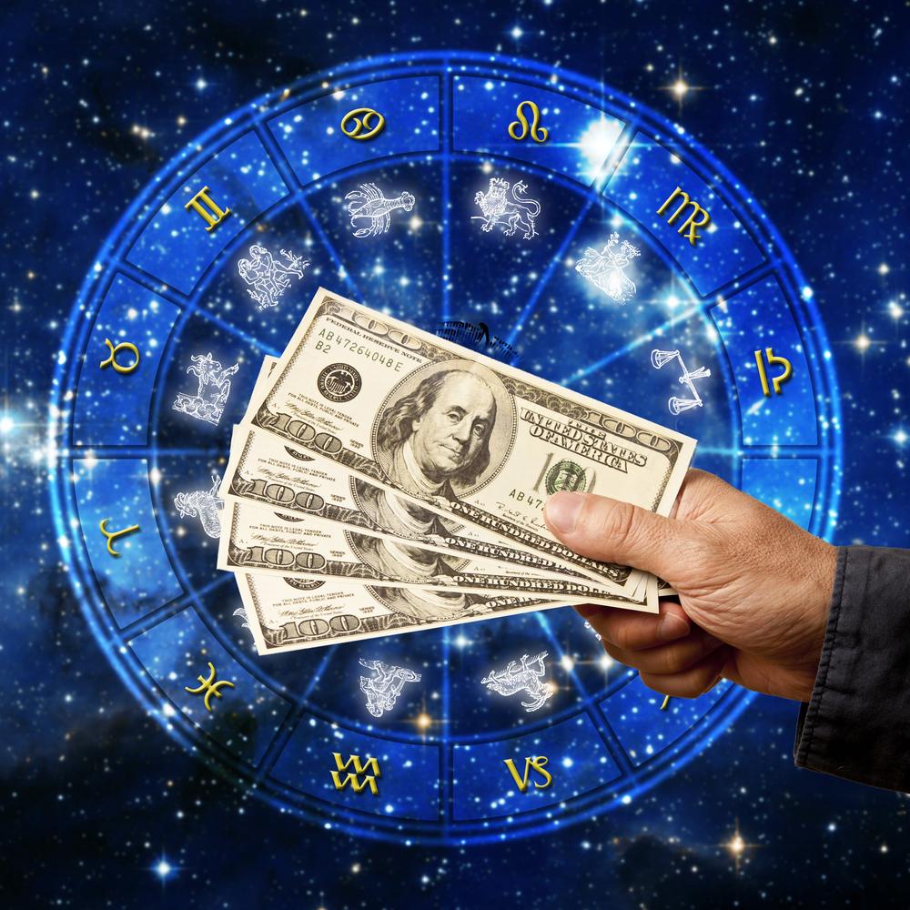 pieniądze, zodiak
