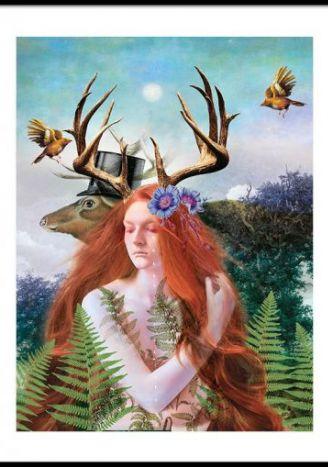 Plakat Magia przesilenia 30x40 cm