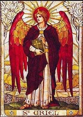 archanioł Uriel włada żywiołem ziemi
