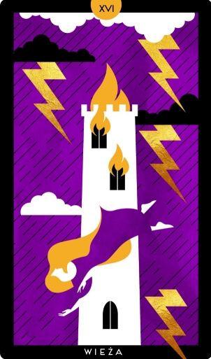 karta tarota wieża