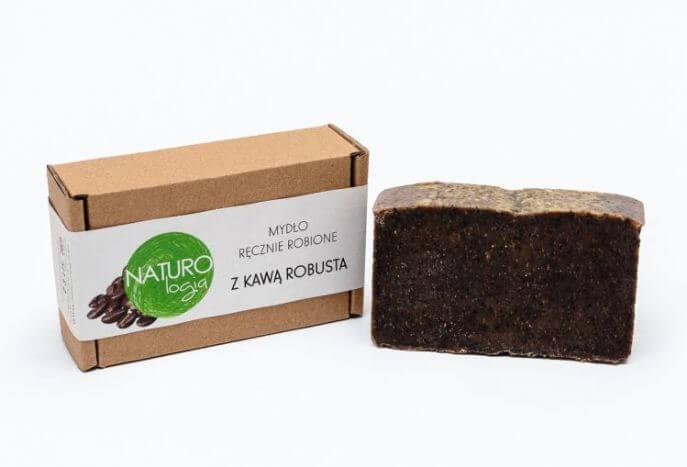 Naturalne mydło z kawą robusta