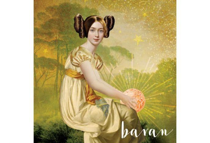 Plakat znaki zodiaku - Baran