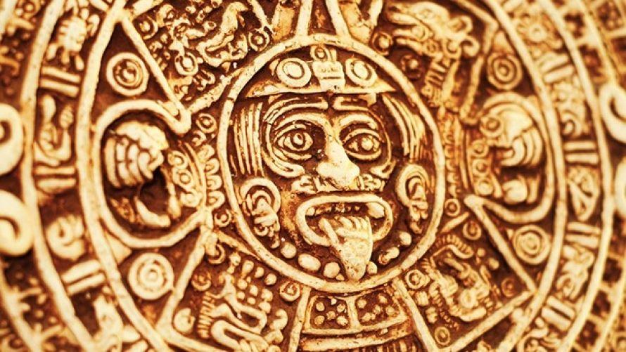 Kamienny horoskop Majów