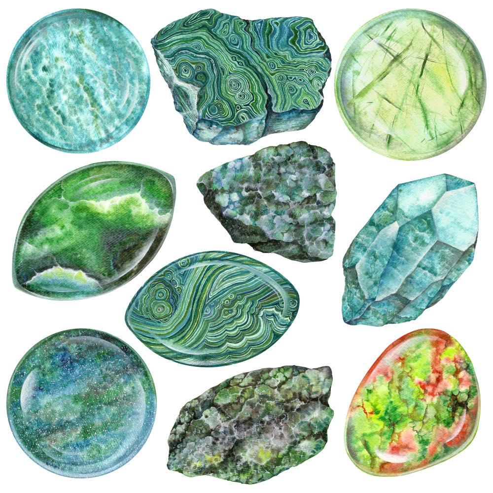 kamienie, znaczenie kamieni, jadeit
