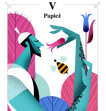 Tarot tygodniowy. Karta Papież mówi: Doświadczymy miłości