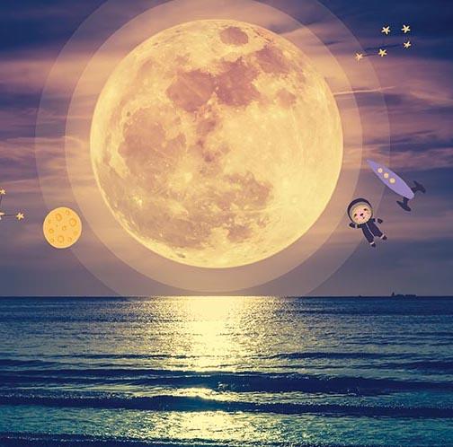 Czy wiesz, że Księżyc się oddala od Ziemi?
