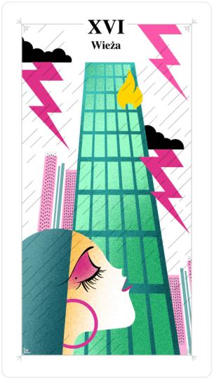 tarot tygodniowy, wieża