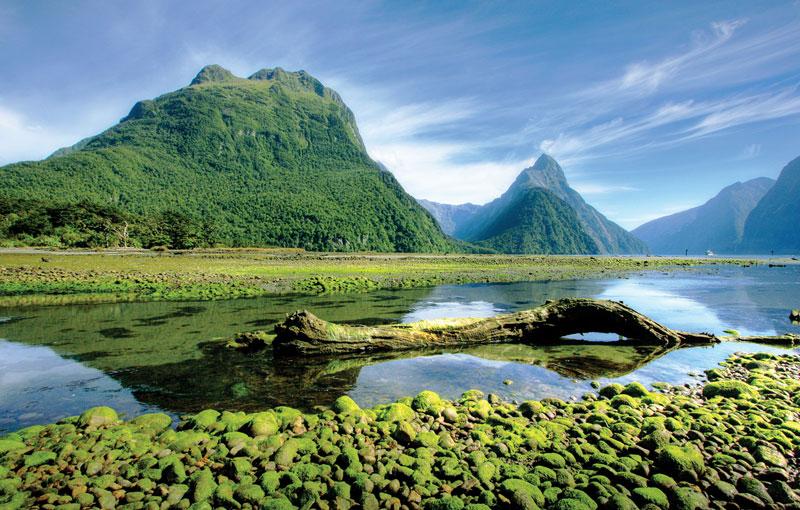 Nowa Zelandia - raj pod długą, białą chmurą