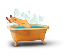 Kąpiel na złe uroki
