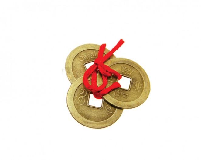 chińskie monety szczęścia