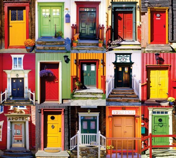 mieszkania, drzwi