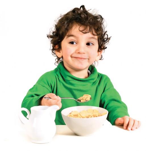 Śniadanie moc dziecku dające