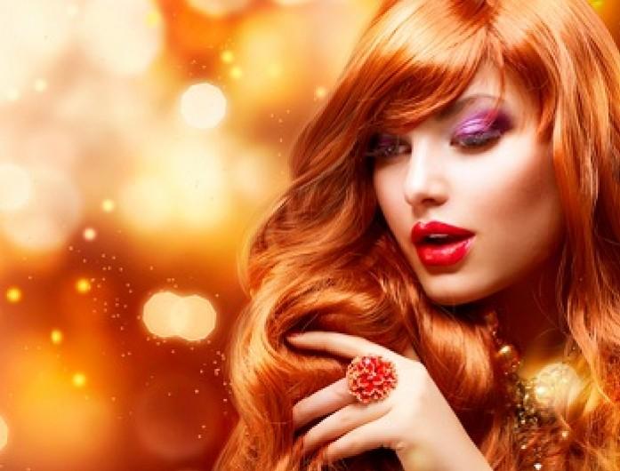 dziewczyna, jesień, biżuteria