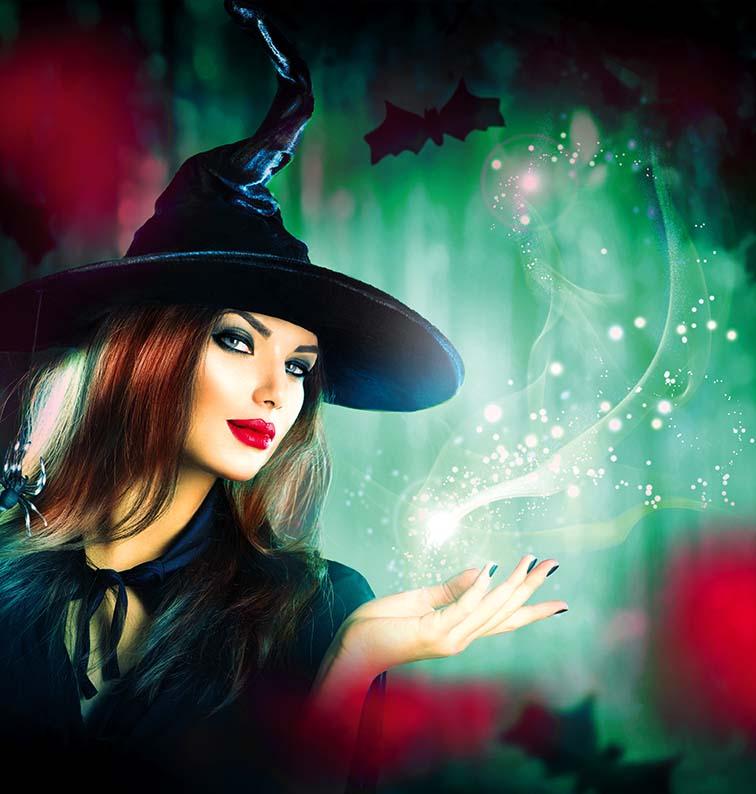 Czaruj w Halloween, noc magii!