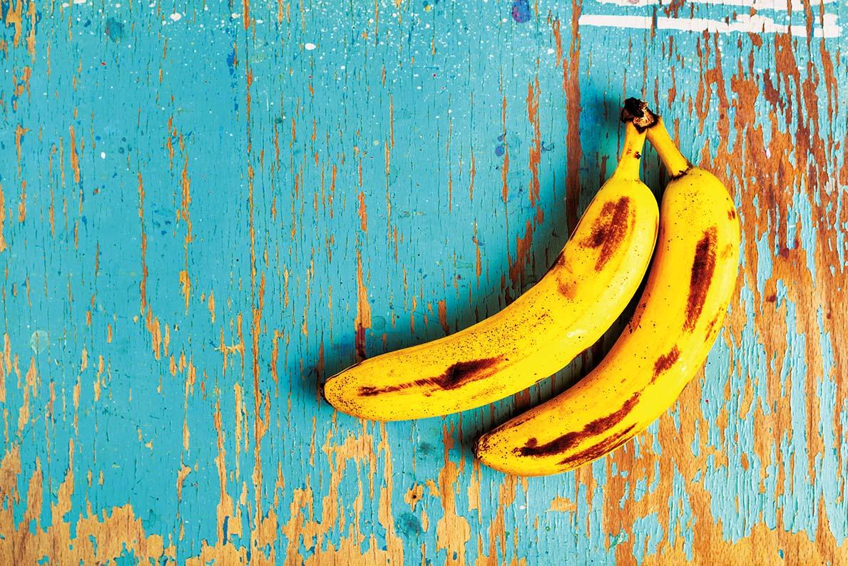 Banany leczą i chronią