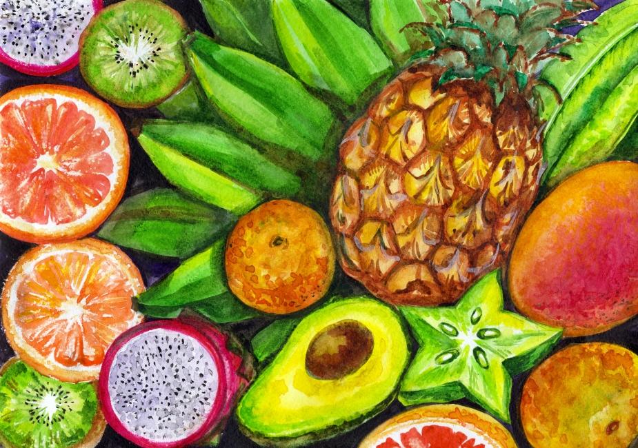 15 najzdrowszych warzyw i owoców! Jedz je dla zdrowia i ładnej sylwetki.