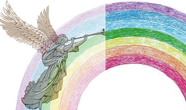 Anielska Tęcza - amulet ochronny