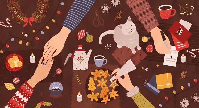 Magiczne kartki dobrych życzeń
