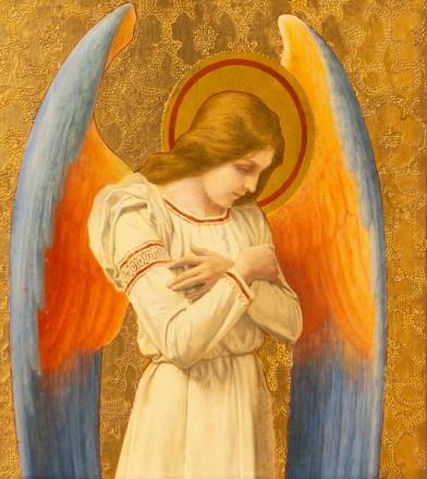 Anioł Barchiel opiekuje się nami w październiku. Poznaj jego moce.