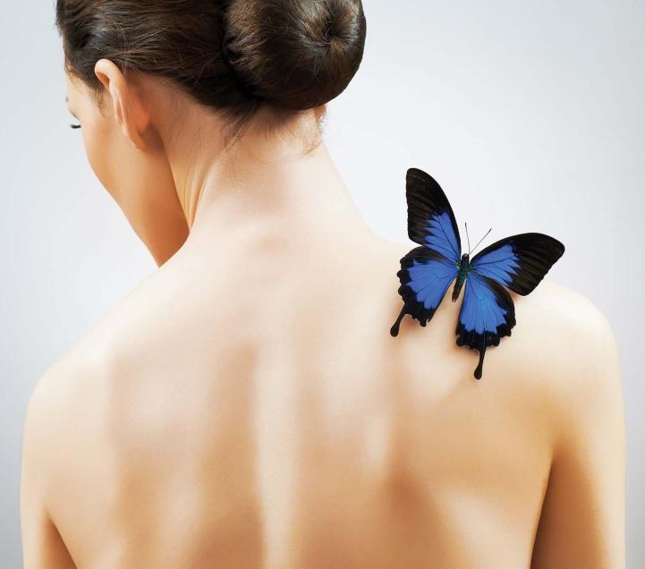 Dotyk Motyla - ten automasaż leczy ciało i duszę. Zobacz, jak go zrobić.