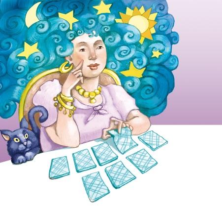 Zrób wróżbę z kart, by poznać swojąprzyszłość.