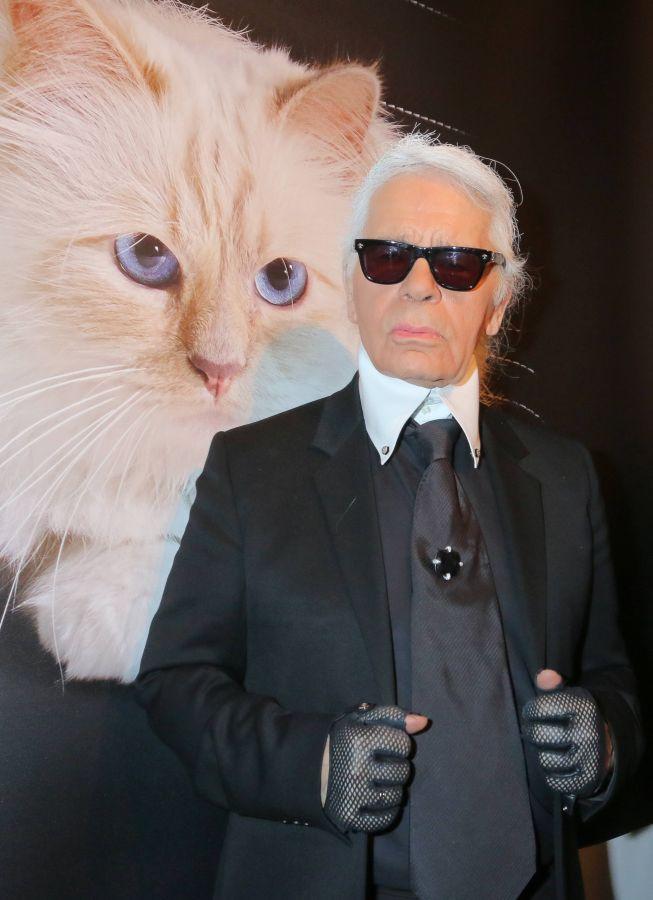 Karl Lagerfeld, kot, Choupette