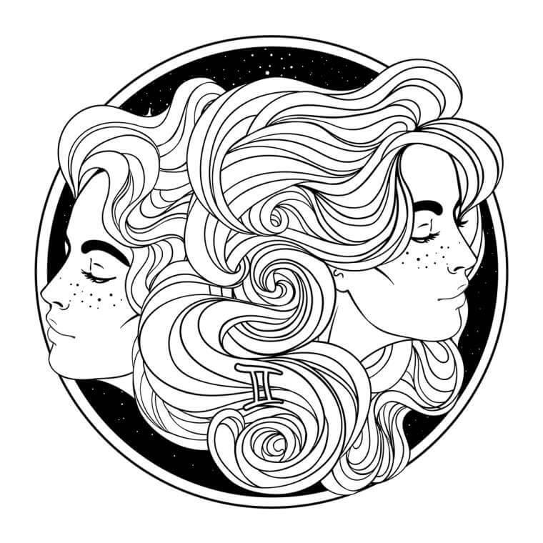 bliźniaki, bliźnięta znak, kobieta bliźniak