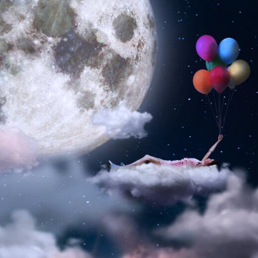 pusty bieg księżyca