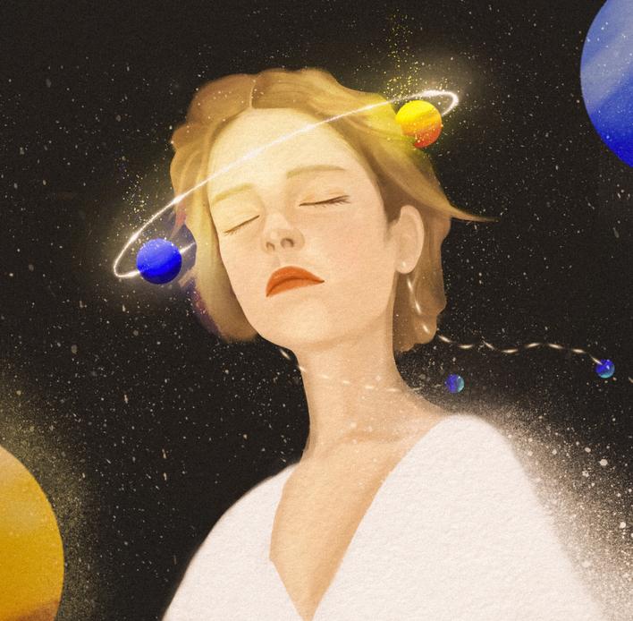 planety, kobieta