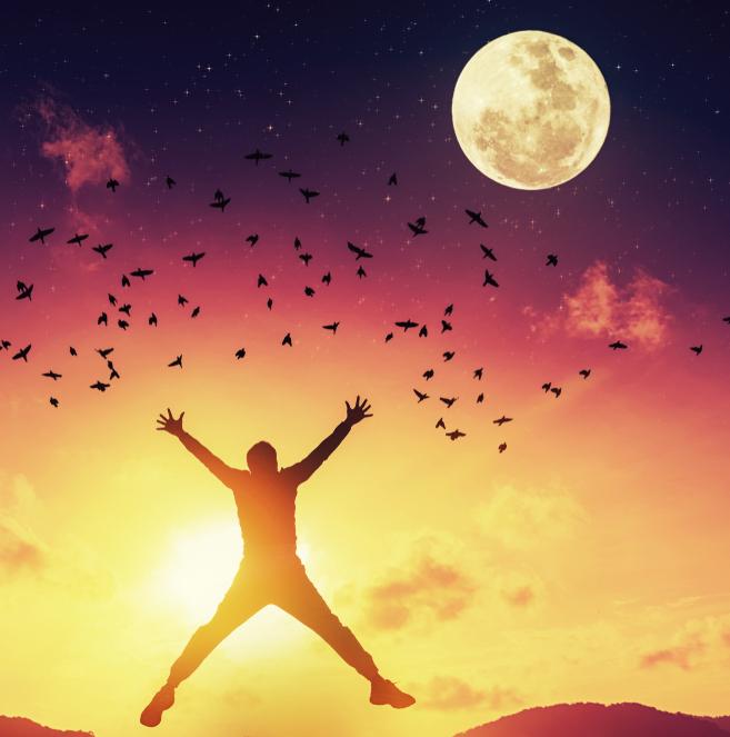 księżyc, pełnia