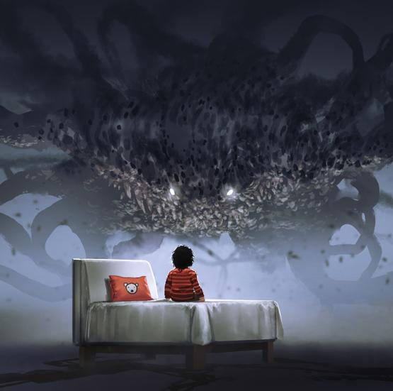 dziecko, demon