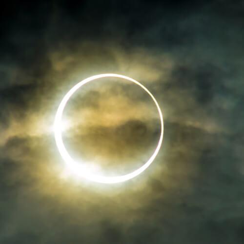 obrączkowe zaćmienie Słońca