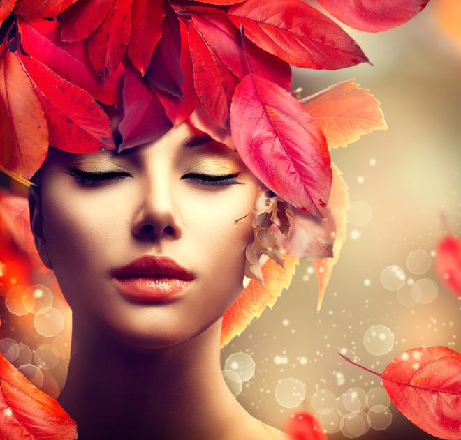 Bądź piękna jesienią! Magiczne sposoby na suchą skórę i włosy.