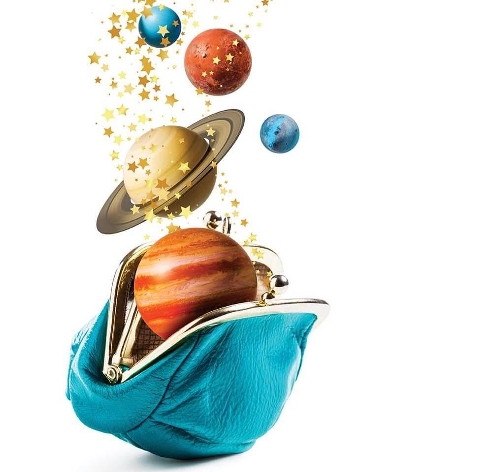 planety i portfel