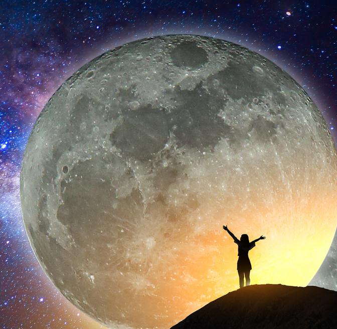 Czarne myśli? W pełnię Księżyca powiedz im stop!