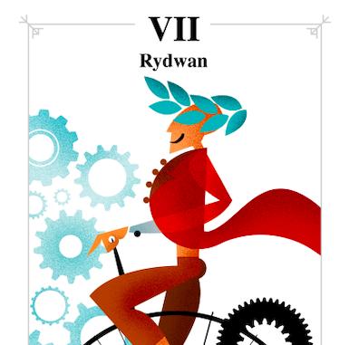 Karta Rydwan mówi: Osiągniesz każdy cel. Do dzieła!