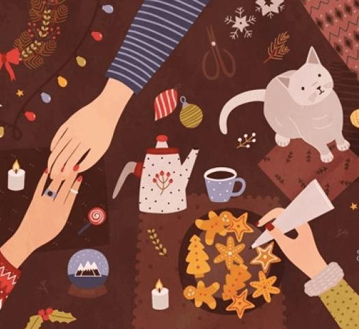 Zrób magiczne kartki dobrych życzeń.